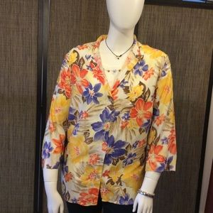 Alfred Dunner button up blouse